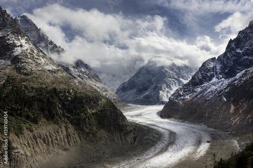 Glacier, Montenvers, Chamonix, France