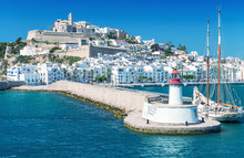 Ibiza Port, Beautiful Panorami...