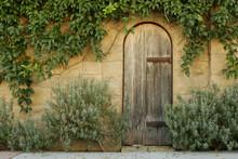 Rustic Wooden Doorway