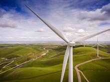Windmill - Wind Turbine On Hill