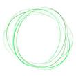 soft green abstract swirl tornado of moving circles
