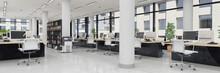 Großraumbüro - Bürogebäude...