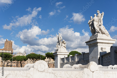Photo  Vittoriano Monument (Altar of Nation) in Rome
