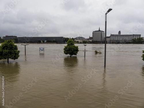Plakat Flood 2013, Linz, Austria