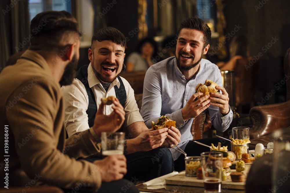 Fototapeta Pub Food And Drinks