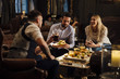 canvas print picture Pub Food And Drinks