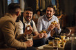canvas print picture - Pub Food And Drinks