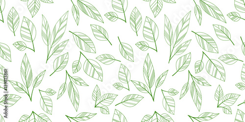 leaves-seamless-background