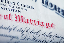 NYC Marriage Certificate