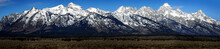 View Of Teton Mountain Range W...
