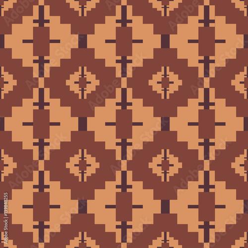Photo asian geometric pattern