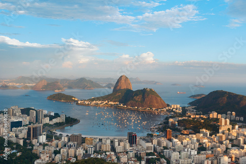 Canvastavla  Mountain Sugarloaf , Rio de Janeiro, Brazil