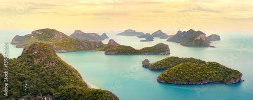 Mu Ko Ang Thong National Marine Park in Thailand
