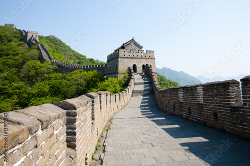 Foto auf Leinwand Chinesische Mauer Mutianyu Section of the Great Wall of China