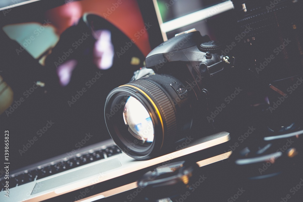 Fototapety, obrazy: Photo Technologies Concept