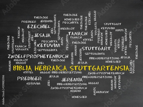 Photo  Biblia Hebraica Stuttgartensia