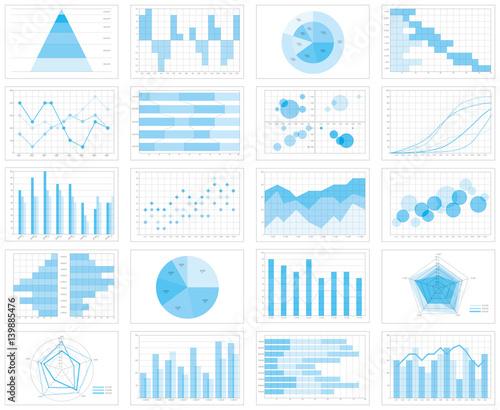 グラフ チャート 表 Wallpaper Mural