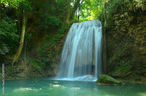 Wall Murals Waterfalls Cascading waterfall