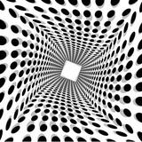 Fototapeta Do przedpokoju - Abstract Background Circle Dot Twist