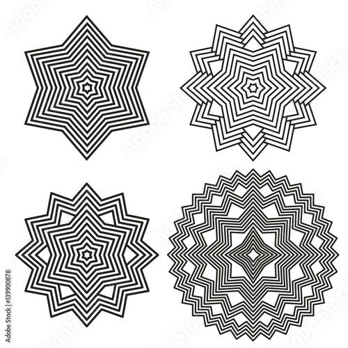 Stampe  geometric Element Lines