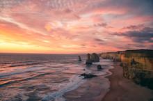 12 Apostel Bei Sonnenuntergang...