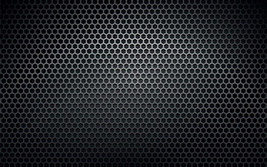 Fototapetadark metal vector texture background