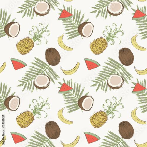 jednolite-wzor-z-bananow-ananasy-arbuzy-orzechy-kokosowe-i-lisci-palmowych