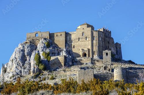 Loarre Castle (Castillo de Loarre) in Huesca Province Aragon Spain
