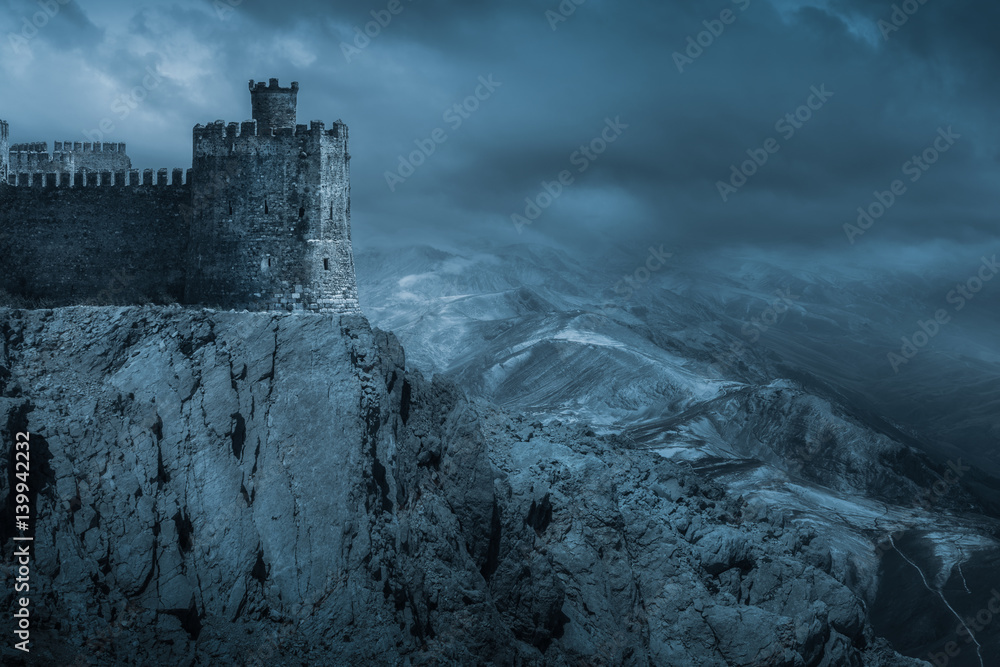 Fototapety, obrazy: Dark Castle
