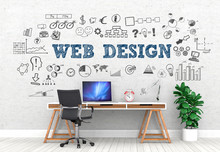 Web Design / Office / Wall / S...