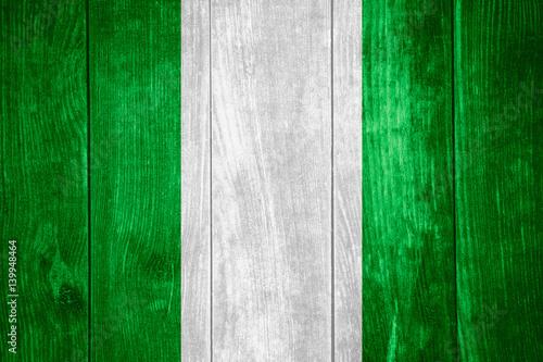Foto op Plexiglas Groene flag of Nigeria