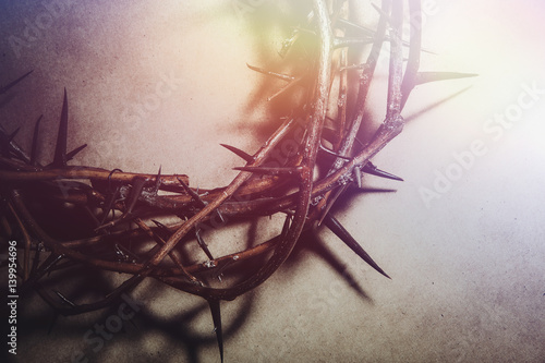 Photo Jesus Christ crown of thorns
