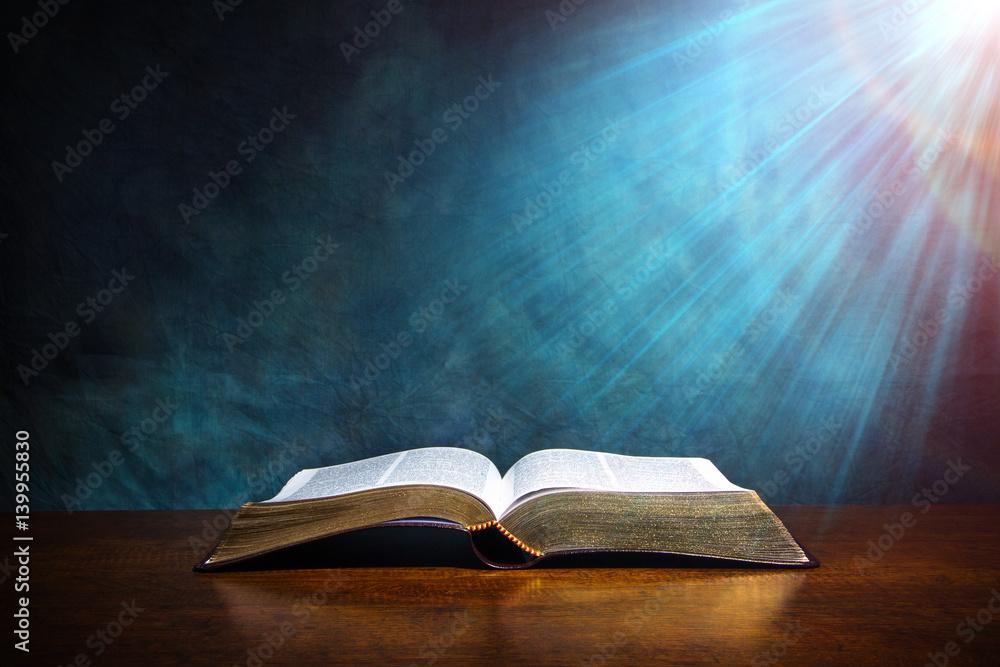 Fototapety, obrazy: Open Bible