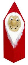 Santa Claus Figurine Isolated On White Background