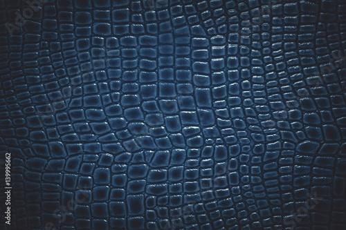 Poster Crocodile Crocodile leather texture background. Macro shot. Stock image.