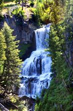 Falls In Yellowstone
