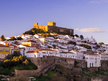Cityscape Of Mertola In Portugal