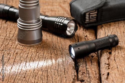 Obraz pocket flashlight for EDC - fototapety do salonu