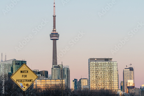 Toronto - CN Tower - Canada Poster