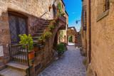 Fototapeta Na drzwi - Village Civita di Bagnoregio in Italy