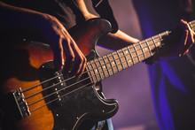 Close-up Photo Of Bass Guitar ...