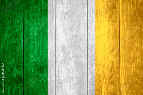 Foto op Plexiglas Groene flag of Ireland