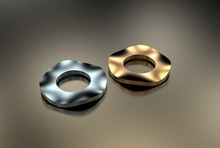 3d Illustration Of Washers
