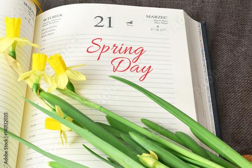 Spring Day, 21 marzec