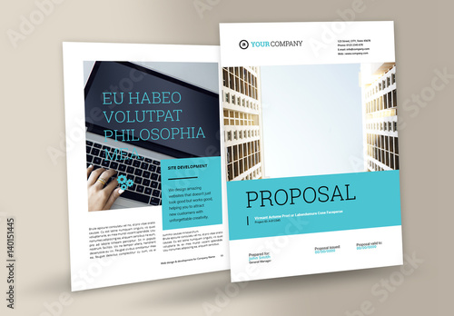 Attractive Business Proposal Layout Within Proposal Layouts