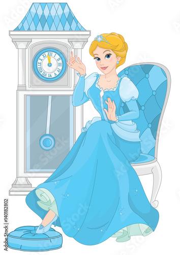 In de dag Sprookjeswereld Cinderella at Midnight