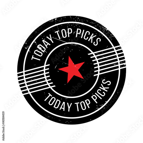 Photo  Today Top Picks rubber stamp