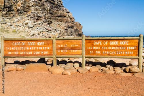 Fotografija  Cape of Good Hope, South Africa