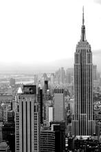 Black New York Skyline