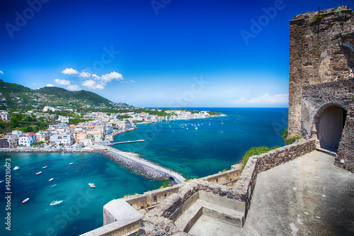 Fotografía Ischia dal castello aragonese